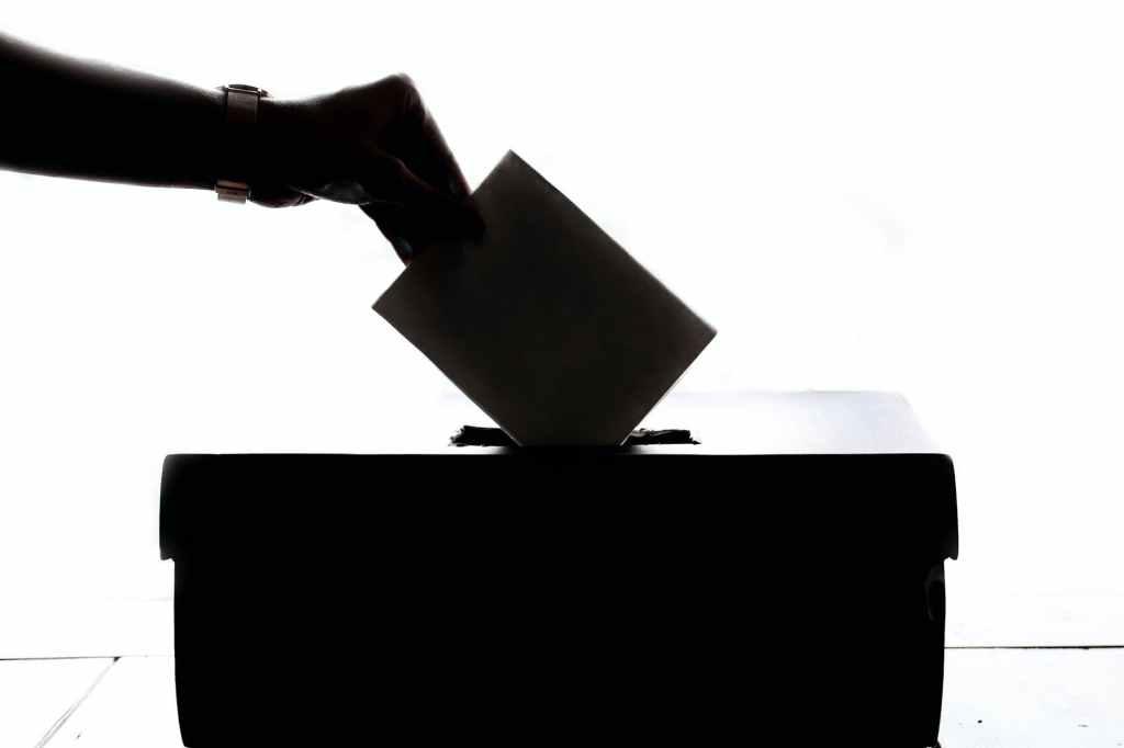 Voting Political Image Splash